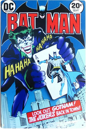 Batman #251 Tin Sign