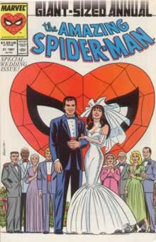 Amazing Spiderman Annual 21 - Wedding Issue