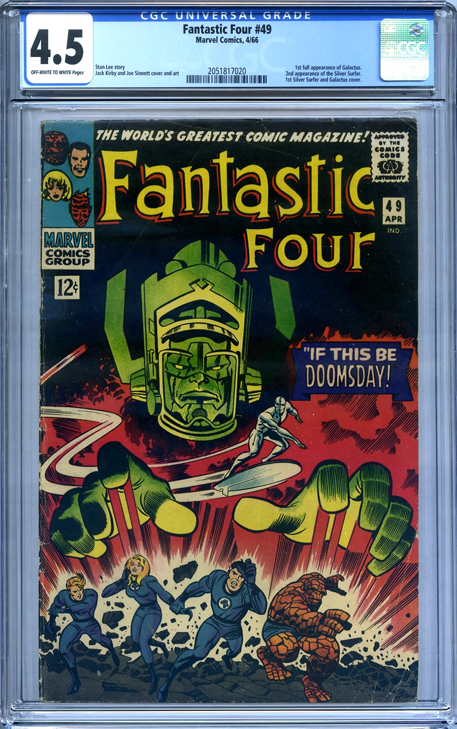 Fantastic Four 1998 series # 66 near mint comic book