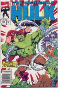 Incredible Hulk #403 with Juggernaut and the Avengers