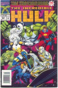 Incredible Hulk #415 - Silver Surfer and Starjammers
