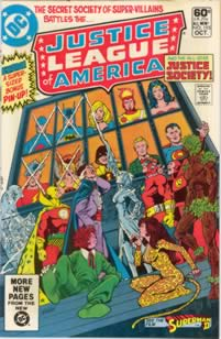 Justice League of America  #195