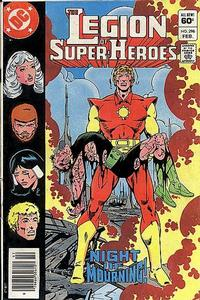 Legion of Super-Heroes #296