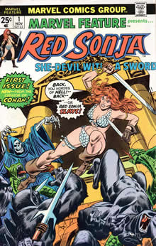 Marvel Feature #1 with Red Sonja