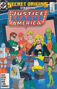 Secret Origins Starring Shadow Lass And Doll Mann Comic Nov 1986 No 8