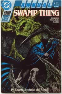 Swamp Thing Annual #4