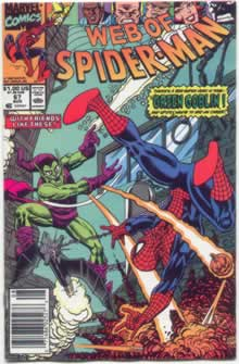 Web of Spider-man 67